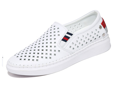 MOOLECOLE莫蕾蔻蕾黑色板鞋女2020春夏新款