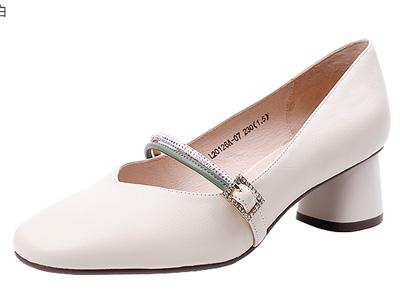 lubeca路貝佳2020春季新款女鞋女士瑪麗珍鞋