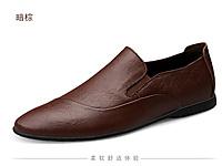 波士威尔2020夏英伦潮流休闲男鞋子高档舒适