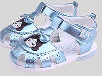 哈比特童鞋夏季新品女童包�^鞋�鲂�