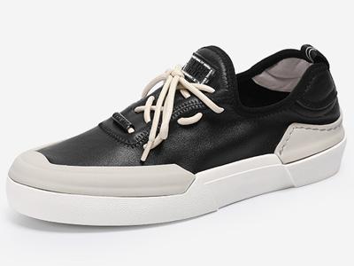 Mr.ing2020春夏季白色真皮板鞋