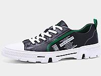 吉普森男鞋2020夏季韩版真皮板鞋