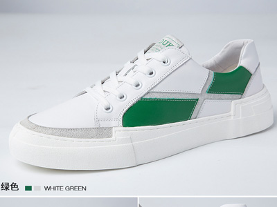�R��杜克男鞋春季潮男小白鞋�n版