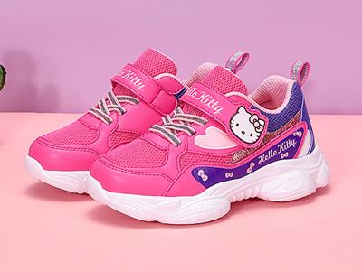 凯蒂猫童鞋女童运动鞋2020年春季新款