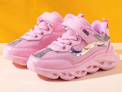 阿童木女童鞋运动鞋2020新款时尚老爹鞋
