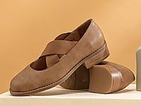 茵曼2020春新款森女单鞋女玛丽珍鞋
