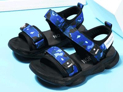 藍貓男童涼鞋2020新款夏季中大童小孩鞋