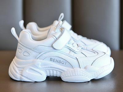 奔仔童鞋运动2020春款新款时尚网红小白鞋