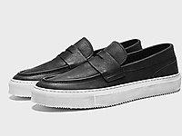 BK伯帝酷奇男士真皮休闲鞋新款青年潮鞋板鞋