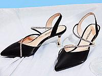 康奈女鞋2020夏季新款时尚都市摩登细钻尖头