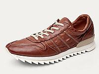 爱得堡男鞋运动鞋男休闲跑步潮流皮鞋