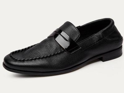 爱得堡乐福鞋男英伦休闲皮鞋复古休闲鞋