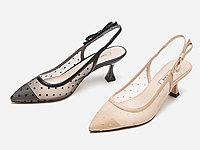 热风女鞋2020年夏季新款女士百搭仙女网纱凉鞋