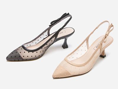 熱風女鞋2020年夏季新款女士百搭仙女網紗涼鞋