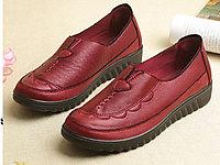 唐福�中老年休�e鞋平底防滑奶奶鞋