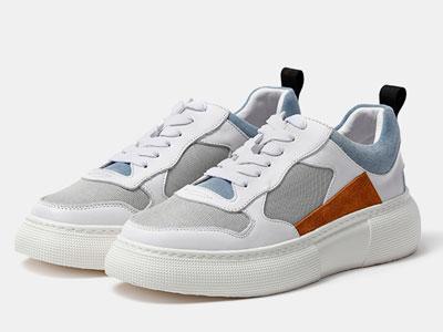 维界低帮男鞋2020新款时尚潮流厚底潮牌