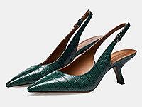 哥弟女鞋2020春季新款细跟后空浅口单鞋