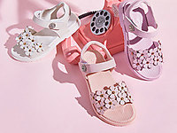 HOBIBEAR哈比熊2020新款�r尚中大童�W�t公主鞋