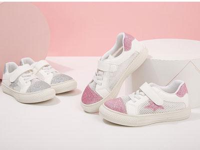 笛莎女童运动鞋2020春装新款宝宝时尚洋气鞋