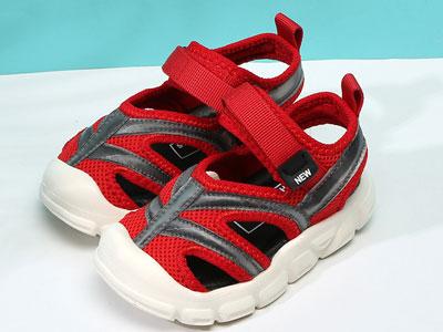 比比我儿童凉鞋2020夏季新款包头镂空凉鞋
