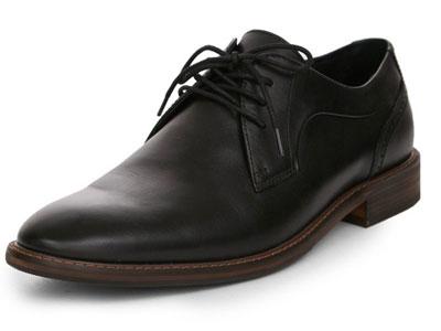 SELECTED思莱德新款圆头英伦风商务休闲皮鞋