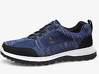 老人頭運動鞋男鞋防水跑步鞋2020新款網面鞋