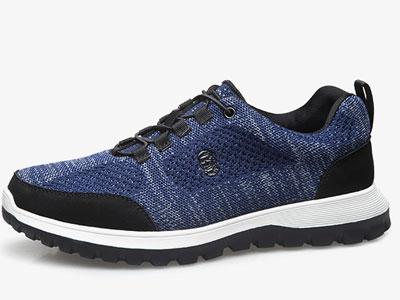 老人头运动鞋男鞋防水跑步鞋2020新款网面鞋
