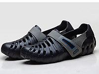 波派包头凉鞋男夏季韩版潮流沙滩鞋
