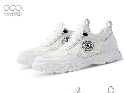 高哥小白鞋韩版潮流春季板鞋内增高男鞋