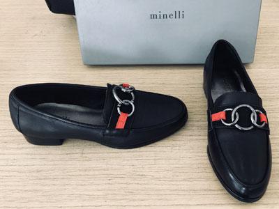 Minelli-進口牛皮gg家設計高檔皮鞋