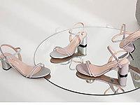 自由姿色涼鞋女仙女風2020夏新款一字扣