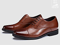 梵狄高新款隱形內增高7CM經典商務正裝皮鞋