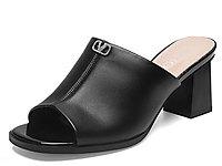 杰豪夏季2020新款时尚外穿粗跟凉拖鞋