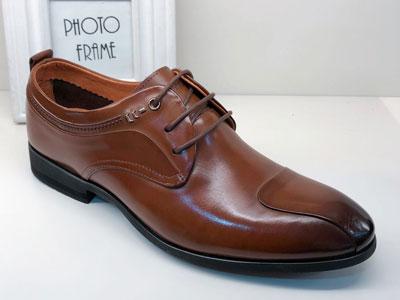 德赛帝伦男鞋真皮英伦商务正装皮鞋