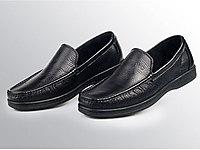 必登高手工縫製柔軟小牛皮休閑男鞋