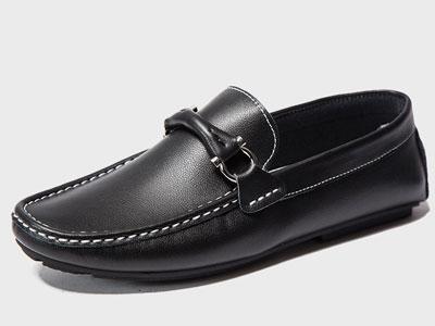 米先生-2020新款真皮豆豆鞋