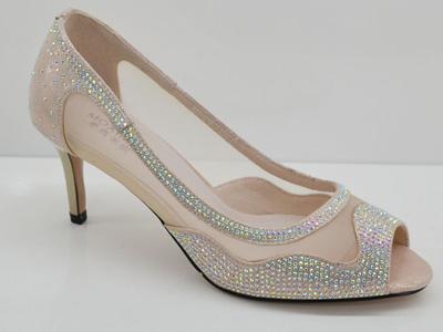 摩西米妮女鞋2020新款烫钻鱼嘴时尚凉鞋