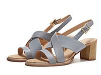 clarks其乐女鞋2020夏新款粗高跟凉鞋