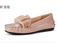 OZZEG豆豆鞋女2020新款小皮鞋女英伦平底单鞋