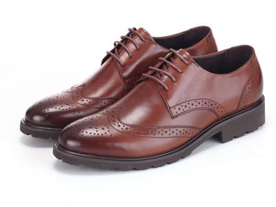 拉巴奴RABANO商务休闲厚底英伦潮流皮鞋