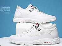 雅浪健康鞋夏季小白鞋男透�忡U空�鲂�