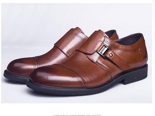 FerrDoFish飞渡鱼男士休闲鞋潮流软底皮鞋