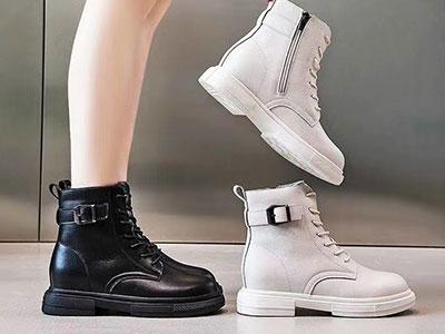 靓思图2020新款马丁靴英伦风ins短靴