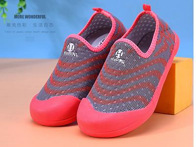 哈皮尼镂空单网鞋防滑软底中大童运动鞋