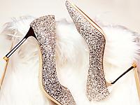 都市比拉女鞋新款时装高跟鞋