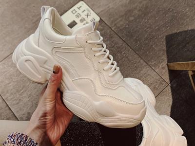 都市比拉女鞋新款2020新品老爹鞋