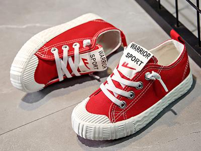 回力童鞋2020春秋儿童帆布鞋女童