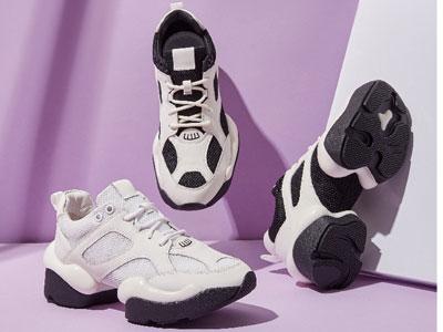 Walker-Shop奥卡索秋季新品女鞋-跳舞内增高老爹休闲鞋