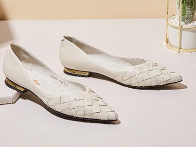 奥卡索2020新款女鞋小众气质单鞋