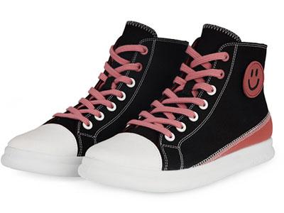 COZY-STEPS新款高帮鞋女厚底2020潮夏季百搭